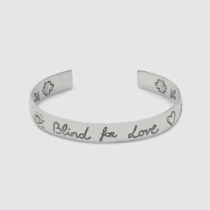 "Bracciale in argento ""Blind for Love"""
